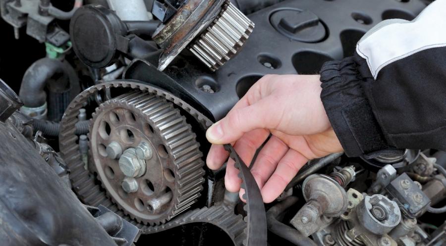 Замена ремней в автомобиле