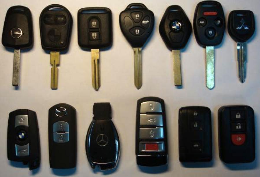 Прописка ключей